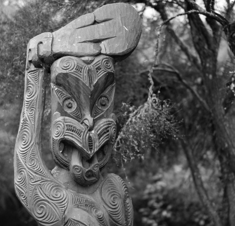 Traditionelle Maori Kunst