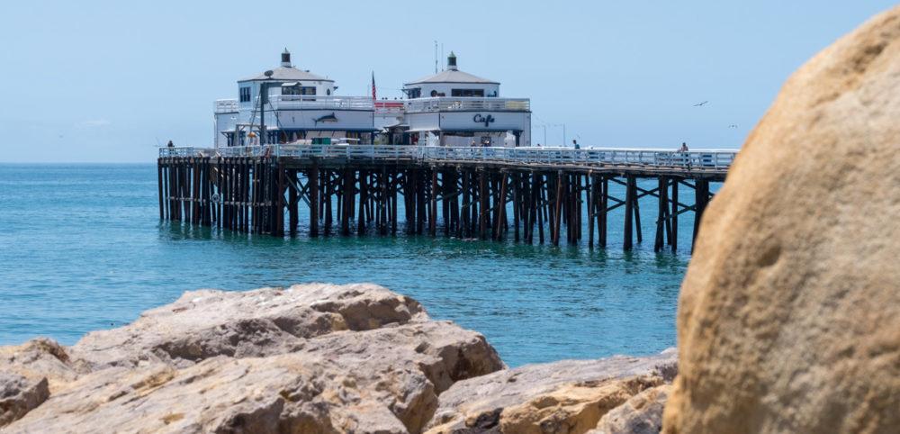 California - Malibu, fehlen nur noch die RettungsschwimmerInnen