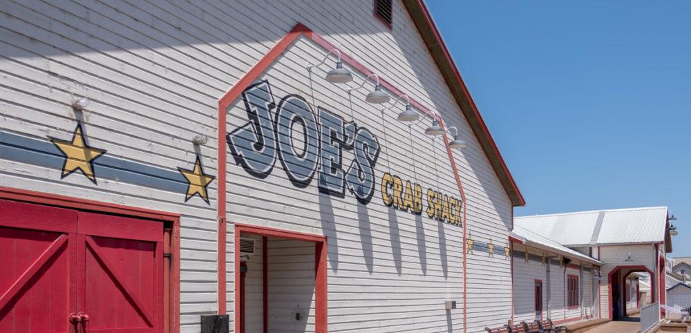 Krabben-Restaurant in Sacramento - weniger unseres! Aber nur schon die Fassade ein Hingucker.