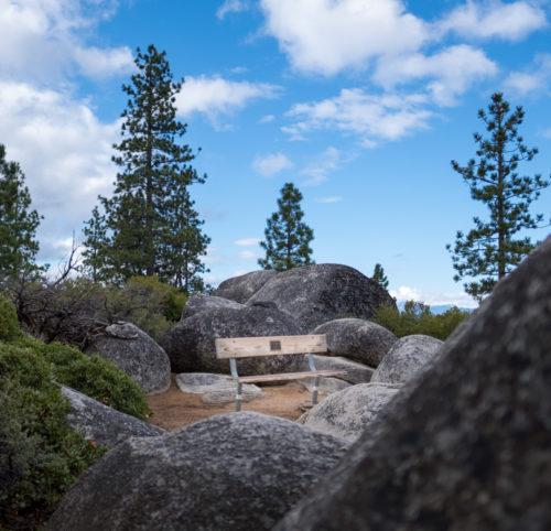 Lake Tahoe - hier kann ausgespannt werden.
